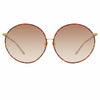 Linda Farrow 891 C2 Oversized Sunglasses