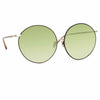 Linda Farrow Zanie C6 Oversized Sunglasses