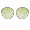 Linda Farrow 891 C6 Oversized Sunglasses