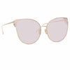 Linda Farrow 895 C5 Cat Eye Sunglasses