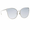 Linda Farrow 895 C7 Cat Eye Sunglasses