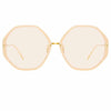 Linda Farrow Alona C14 Oversized Sunglasses