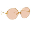 Linda Farrow Alona C6 Oversized Sunglasses