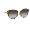 Linda Farrow Ivy C1 Cat Eye Sunglasses