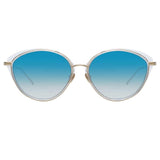 Linda Farrow Ivy C3 Cat Eye Sunglasses