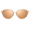 Linda Farrow Ivy C4 Cat Eye Sunglasses