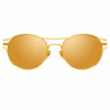 Linda Farrow 944 C1 Oval Sunglasses