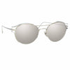 Linda Farrow 944 C2 Oval Sunglasses
