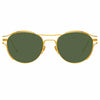 Linda Farrow 944 C4 Oval Sunglasses