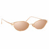 Linda Farrow 947 C3 Cat Eye Sunglasses