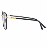 Linda Farrow Trouper C8 Square Optical Frame