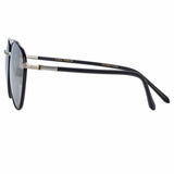Linda Farrow 954 C4 Aviator Sunglasses