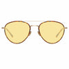 Linda Farrow 954 C7 Aviator Sunglasses