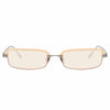 Linda Farrow Leona C5 Rectangular Sunglasses