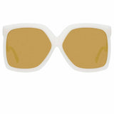 Linda Farrow 981 C6 Oversized Sunglasses