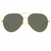 Linda Farrow Ace C1 Aviator Sunglasses