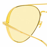 Linda Farrow Ace C6 Aviator Sunglasses