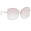 Matthew Williamson 214 C4 Oversized Sunglasses