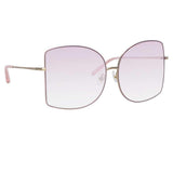 Matthew Williamson 214 C5 Oversized Sunglasses