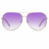 Matthew Williamson 222 C11 Aviator Sunglasses