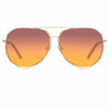 Matthew Williamson 222 C7 Aviator Sunglasses