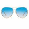 Matthew Williamson 222 C9 Aviator Sunglasses