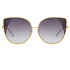 Matthew Williamson Orchid C1 Oversized Sunglasses