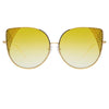 Matthew Williamson Orchid C6 Oversized Sunglasses