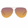 Matthew Williamson Clover C1 Aviator Sunglasses