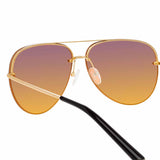 Matthew Williamson 240 C1 Aviator Sunglasses