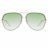 Matthew Williamson Clover C2 Aviator Sunglasses