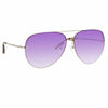 Matthew Williamson 240 C5 Aviator Sunglasses