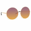 Matthew Williamson Freesia C1 Oversized Sunglasses
