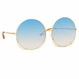 Matthew Williamson Freesia C3 Oversized Sunglasses