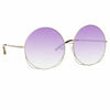 Matthew Williamson Freesia C5 Oversized Sunglasses