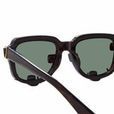 Y/Project 5 C3 D-Frame Sunglasses