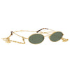 Alessandra Rich 2 C3 Oval Sunglasses