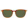 Linda Farrow Linear Wright C11 Rectangular Sunglasses