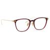 Linda Farrow Linear Wright C4 Rectangular Optical Frame