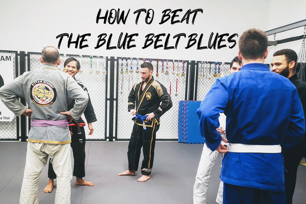BJJFlowCharts Academy - How to Beat the Blue Belt Blues