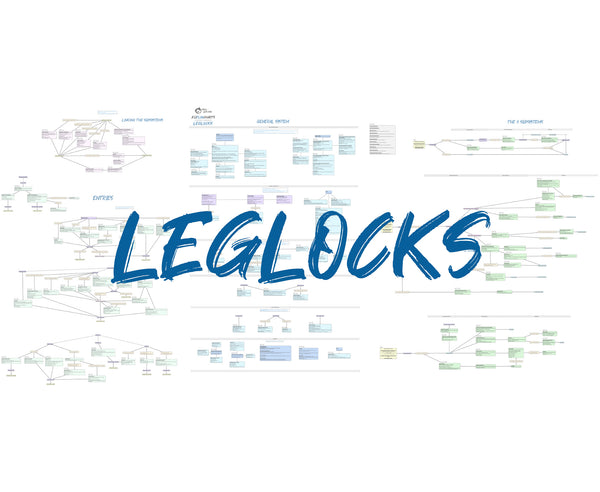 BJJFlowCharts-Leglocks Enter the System by John Danaher
