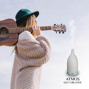 Atmos – Ultrasonic Aroma Diffuser (White)