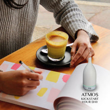 Load image into Gallery viewer, Atmos – Ultrasonic Aroma Diffuser (White)