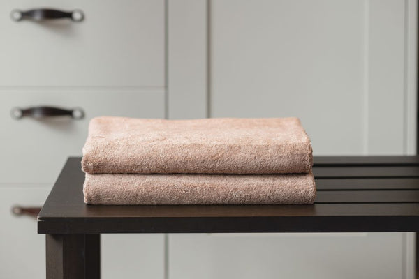 DOUBLE BATH TOWEL - HAZEL BROWN