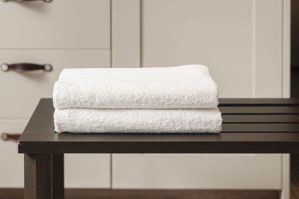 DOUBLE BATH TOWEL - SUN WHITE