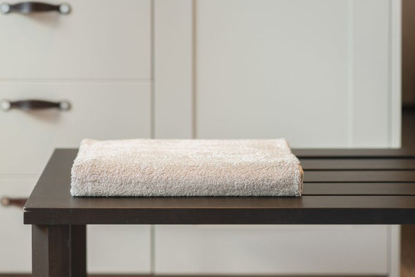 AYURVEDIC BATH TOWEL - BURNT GREY