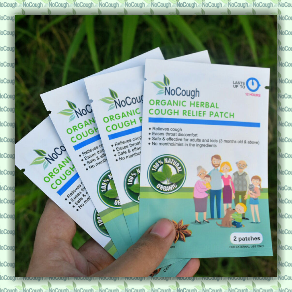 organic cough relief patch
