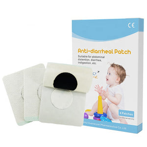 Original Organic Herbal Anti-Diarrheal Patch (4 patches per box)