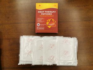 Original Organic Menstrual Pain Relief Heat Therapy Patches (4 patches per box)
