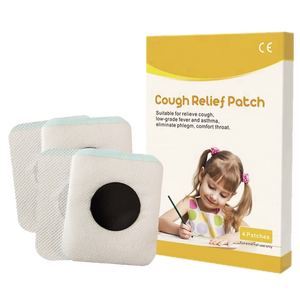 Original Organic Herbal Cough Relief Patch (4 patches per box)